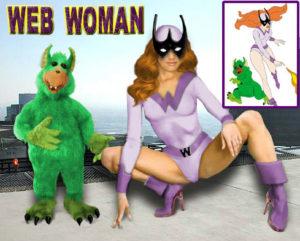 web-woman