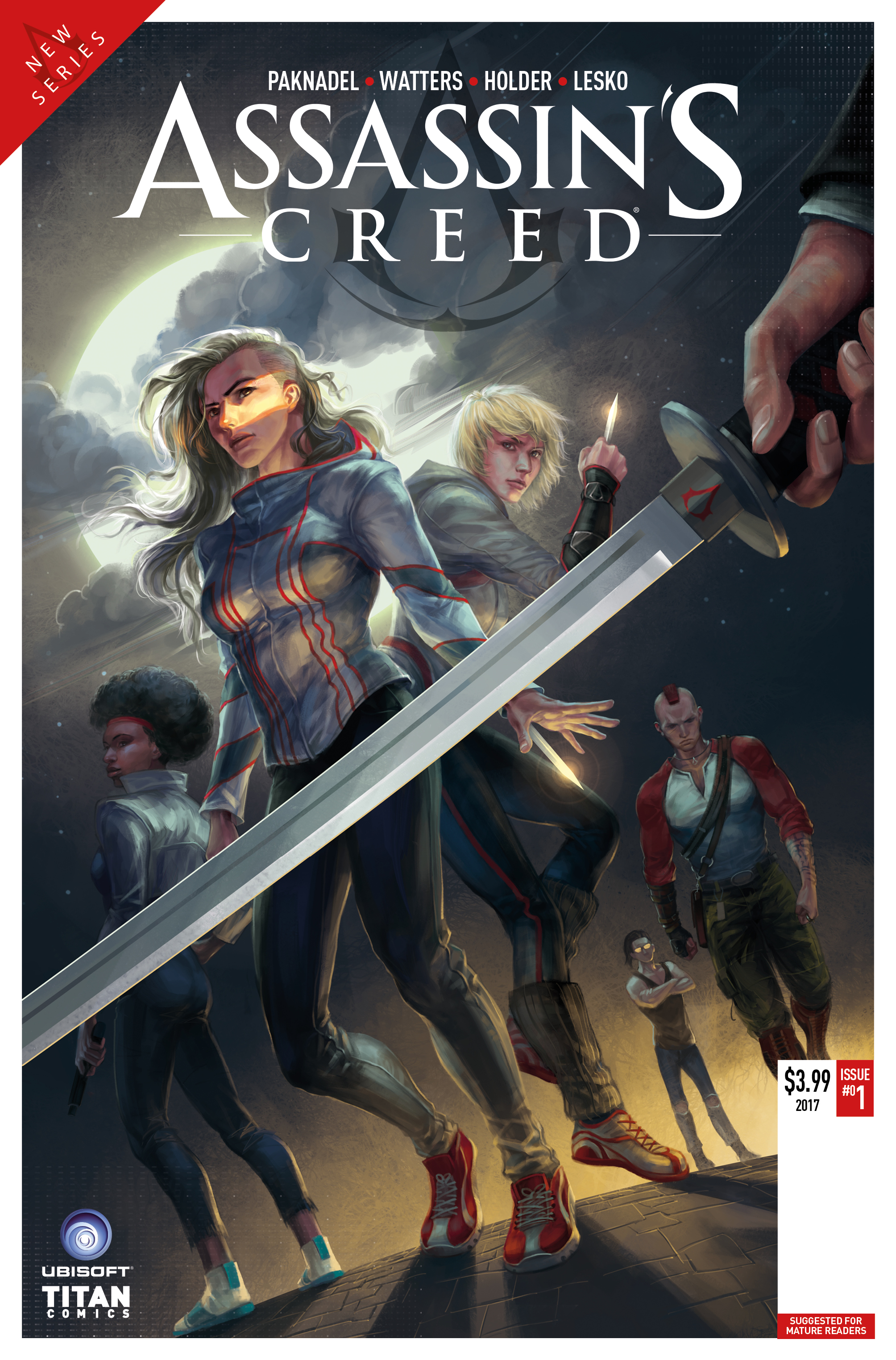 TITAN'S NEW ASSASSIN'S CREED COMIC SERIES TO CULMINATE ...