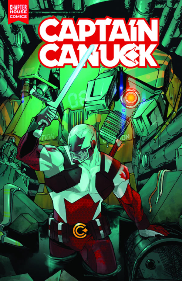 Captain Canuck, Canada, Alpha Flight, Fool's Gold, Prometheus Protocol, Arctic Assault, Ed Brisson, Marcus To, Rosemary Cheetham, Kalman Andrasofszky, Chapter House Comics, Michael Evans