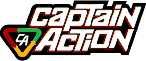 CAPTAIN ACTION RETURNS TO THE TOY STORES
