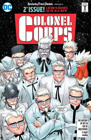 KFC: Crisis of Infinite Colonels Cover