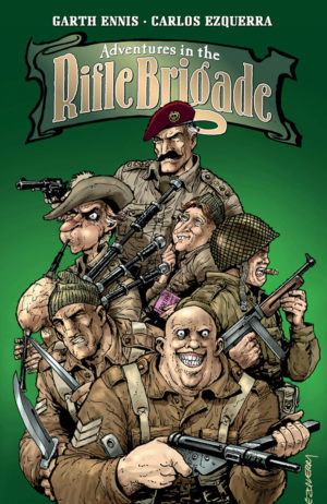 Adventures in the Rifle Brigade Vol 1 Cover