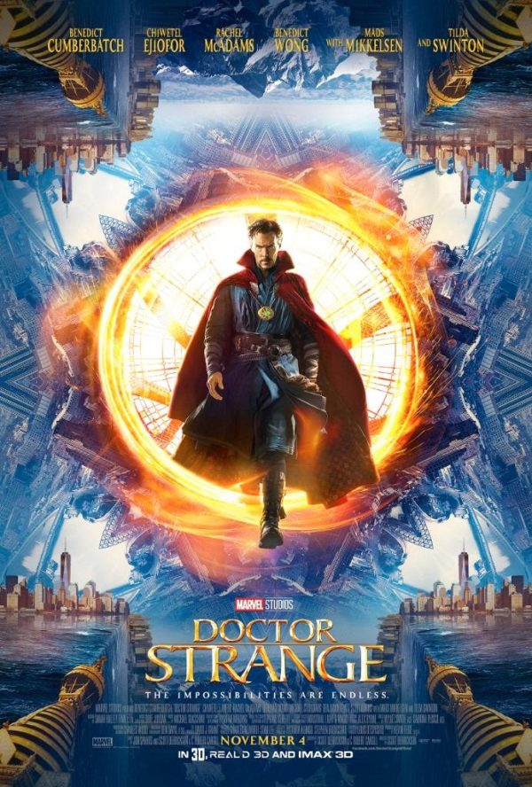 "Marvel Studios and IMAX offering a sneak preview of ""Doctor Strange"""