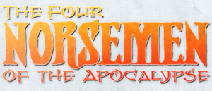 Matthew Sturges talks about THE FOUR NORSEMEN of the APOCALYPSE