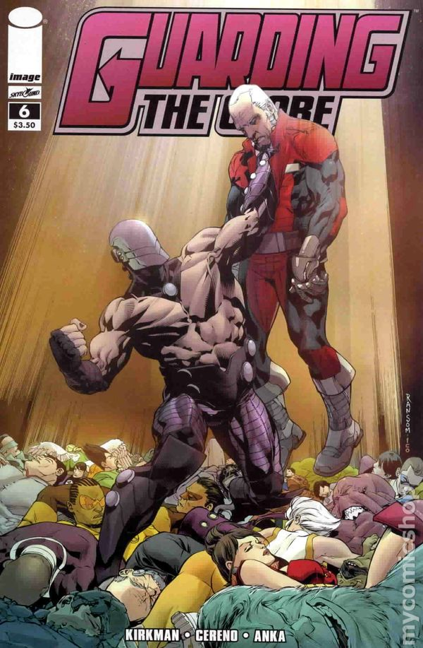 Robert Kirkman, Guarding the Globe, Walking Dead, Phil Hester, Image Comics, Brit, Invincible