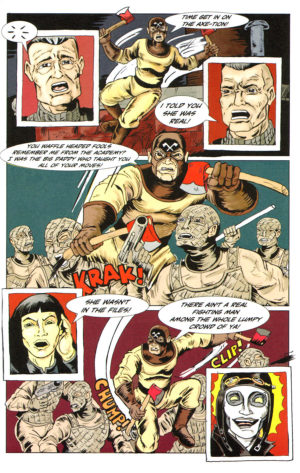 Homeless G-Men #1 Interior Page