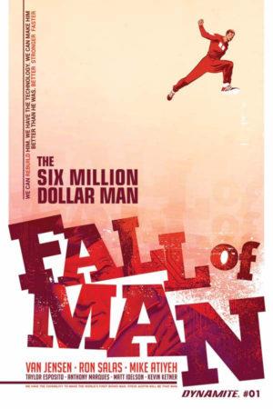 Six Million Dollar Man #1 Cover