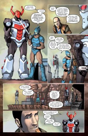 Micronauts #1 Interior Page