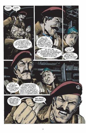 Adventures in the Rifle Brigade Vol 1 Interior Page