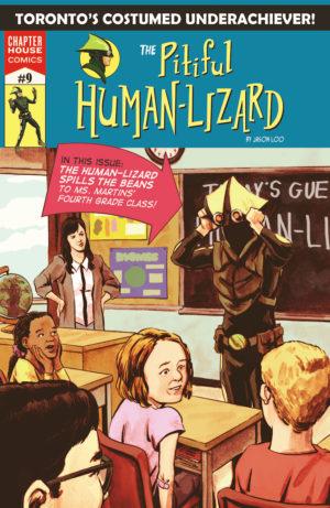 Pitiful Human-Lizard #9 Cover