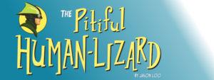 Pitiful Human-Lizard Logo