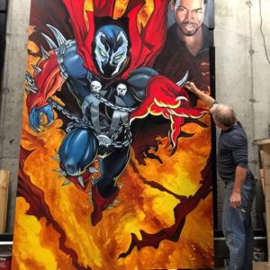 russ-rainbolt-finishing-touches-on-spawn-painting