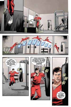 Six Million Dollar Man #1 Interior Page