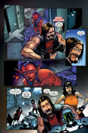Star Bastard #1 Interior Page