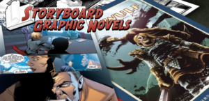 Stephen Stern talks about STORYBOARD GRAPHIC NOVELS