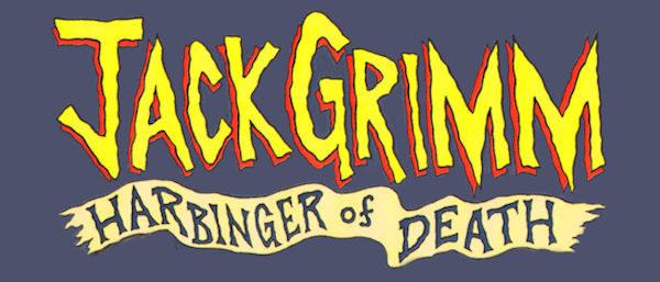 Jack Grimm: Harbinger of Death Logo