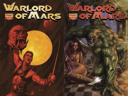 John Carter, Warlord of Mars, Edgar Rice Burroughs, Dejah Thoris, Dynamite!, Tars Tarkas