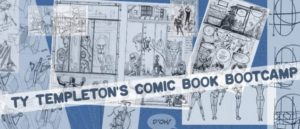 Ty Tempelton talks about COMIC BOOK BOOT CAMP
