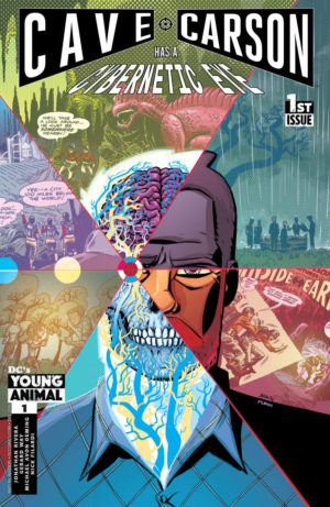 Cave Carson has a Cybernetic Eye Cover