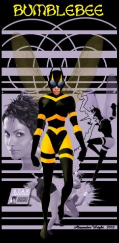 Halle Berry as Bumblebee by Alex Wright