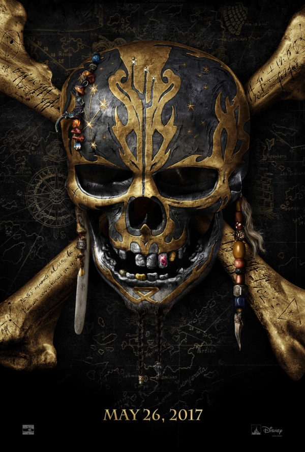 "First teaser for ""Pirates of the Caribbean: Dead Men Tell No Tales"" released."