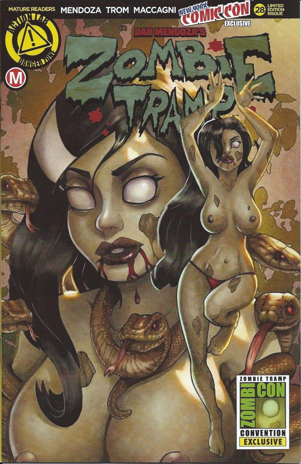 Rich Reviews Zombie Tramp 28 First Comics News