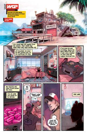 Motor Crush #1 Interior Page
