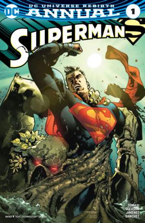 Superman Annual #1 Cover