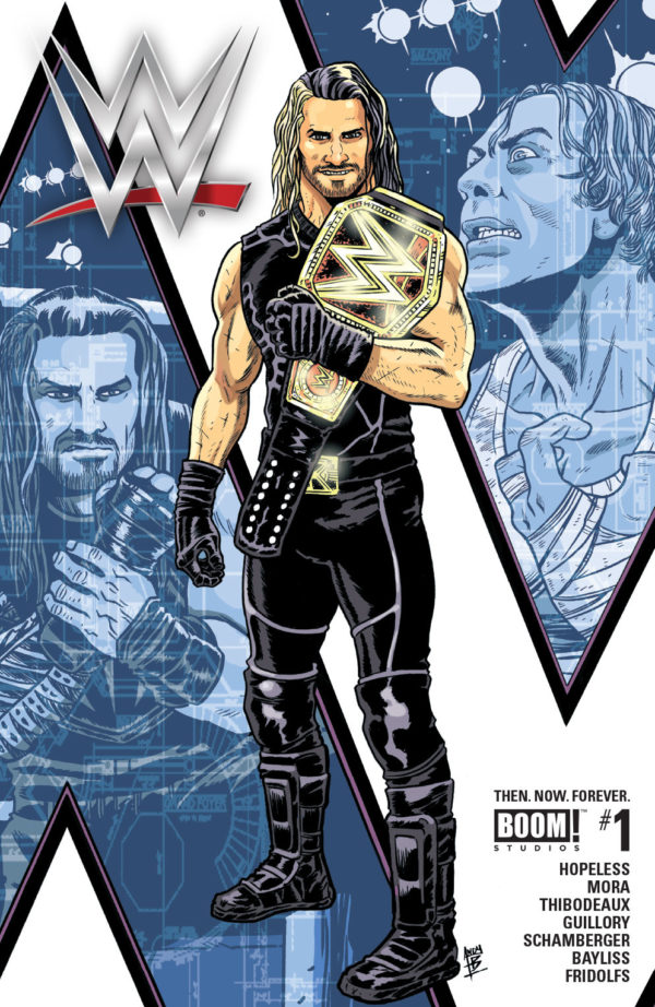 WWE Then. Now. Forever. #1 Third Printing Variant Cover by Andy Belanger