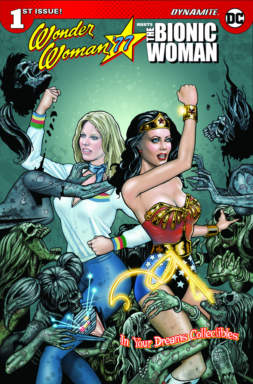 RICH REVIEWS: Wonder Wonder 77 Meets The Bionic Woman # 1 ...
