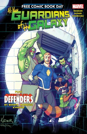 Free Comic Book Day Unleashes THE DEFENDERS & GUARDIANS OF THE GALAXY!