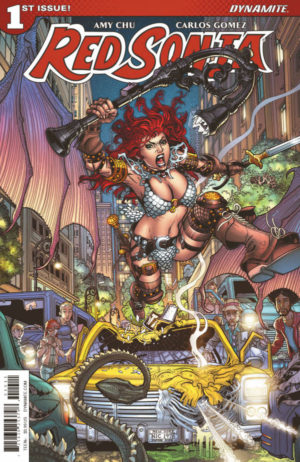 Review Red Sonja #1 Cover