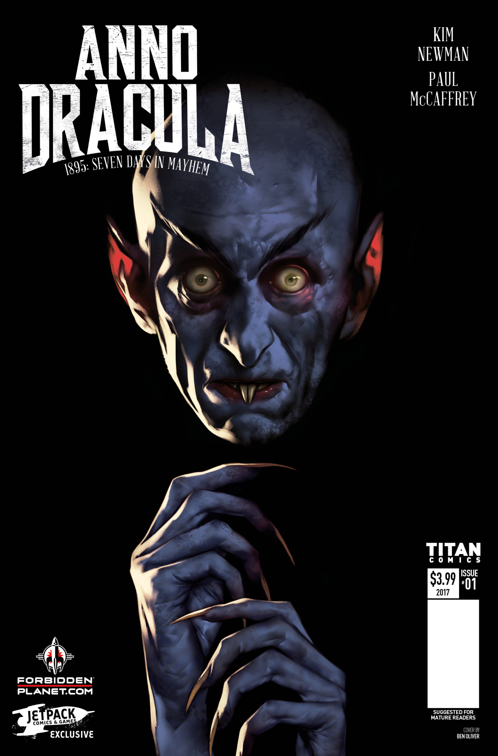 ANNO DRACULA #1 preview – First Comics News