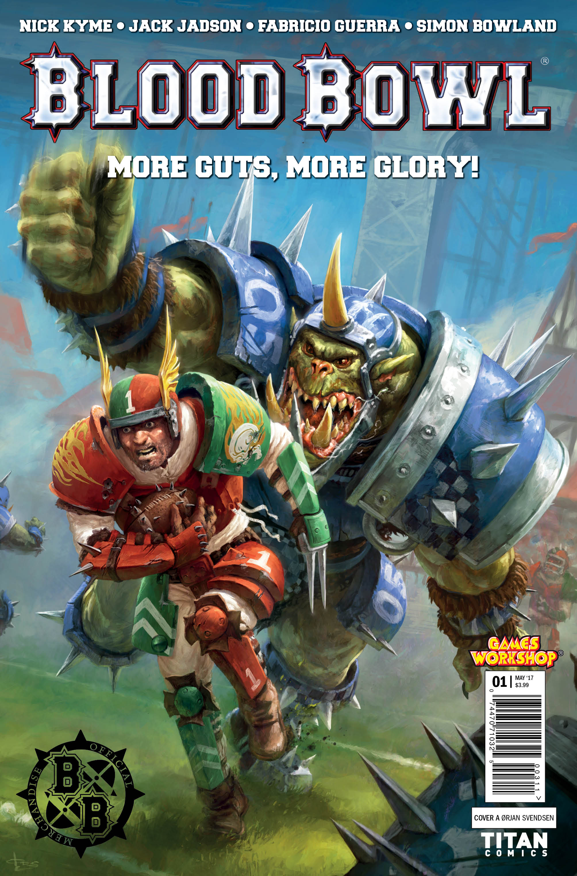 "SMASH-HIT GAMES WORKSHOP BOARD GAME ""BLOOD BOWL"" COMES TO"