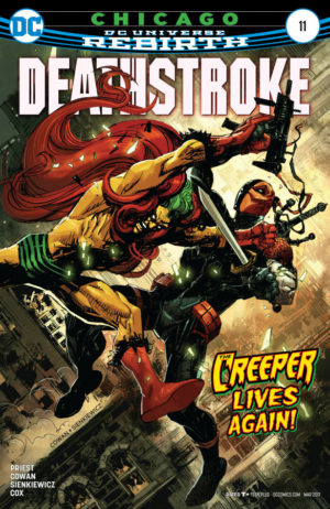 Deathstroke 11 Cover