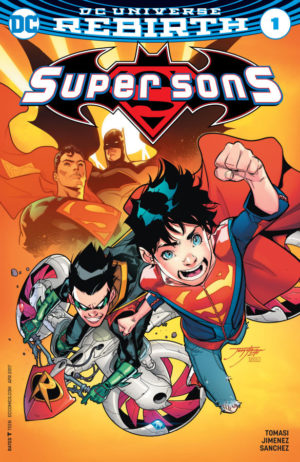 Super Sons #1 Cover