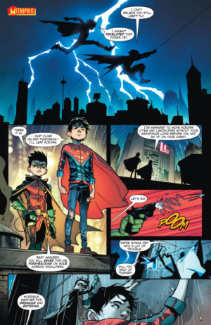 Super Sons #1 Interior Page
