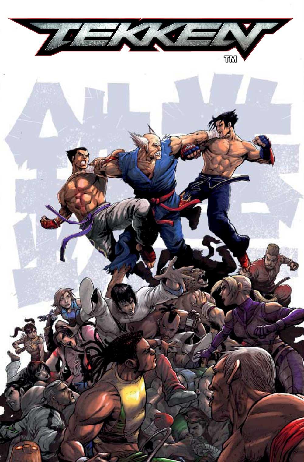 TEKKEN #1 preview – First Comics News