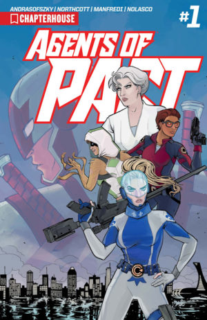 Agents of Pact #1 Cover