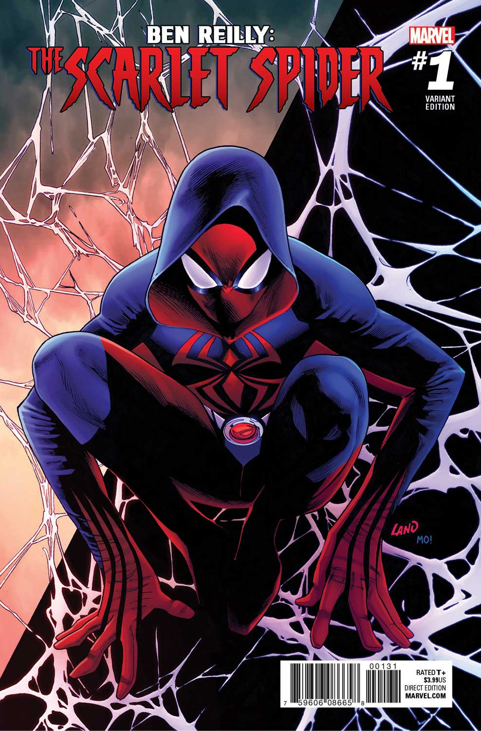 Ben Reilly The Scarlet Spider 1 Preview First Comics News