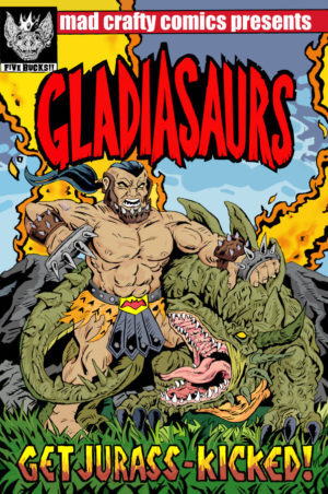Gladiasaurs Cover