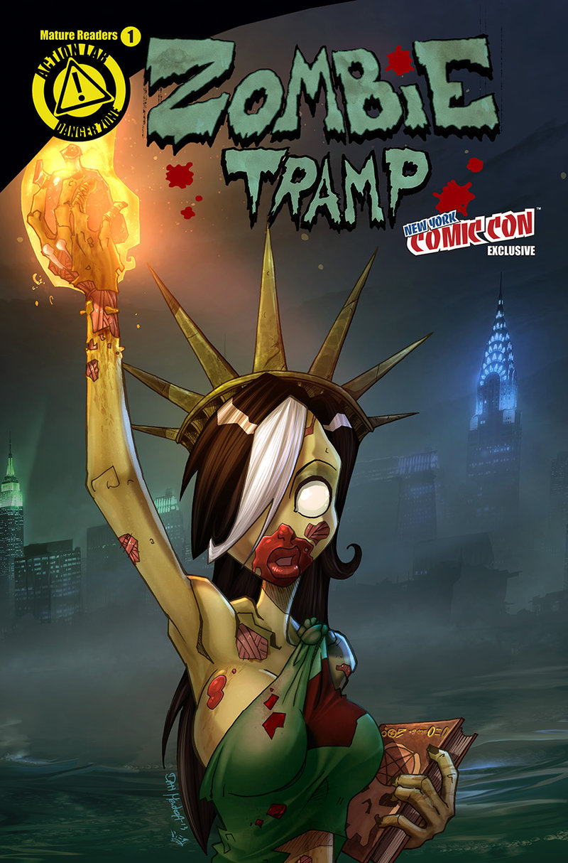 Rich Interviews Dan Mendoza Creator Co Writer Zombie Tramp