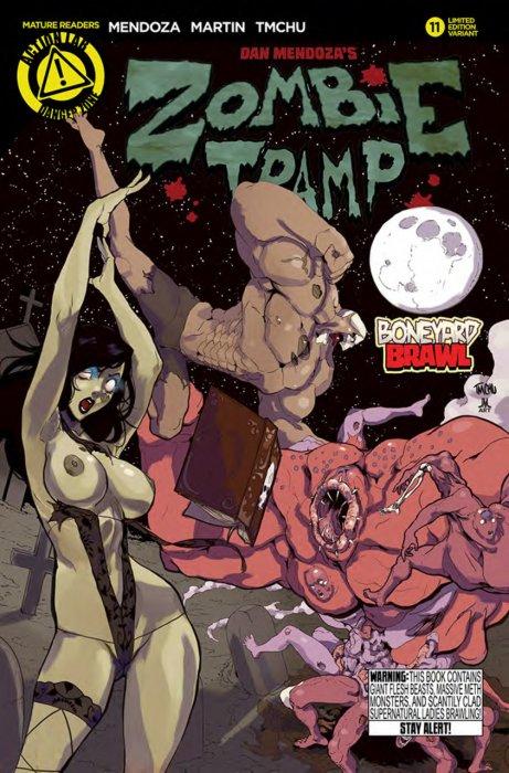Rich Reviews Zombie Tramp 11 First Comics News