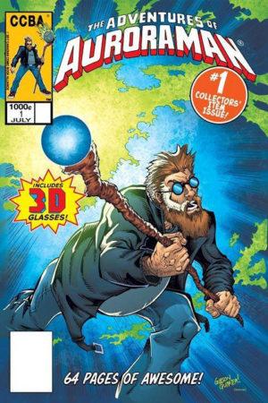 Auroraman #1 Cover