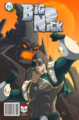 Big Nick #2 Cover