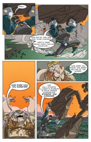 Big Nick #2 Interior Page