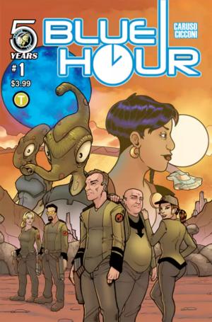 Blue Hour #1 Cover