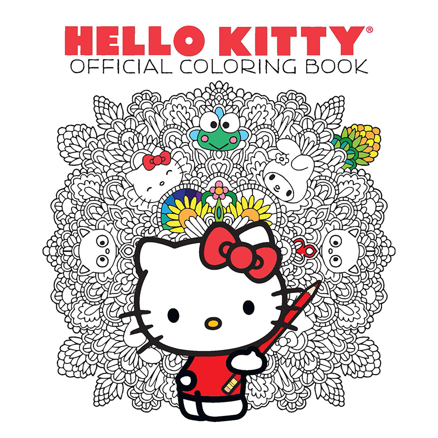 VIZ MEDIA ANNOUNCES PLANS FOR THE HELLO KITTY  FRIENDS COLORING