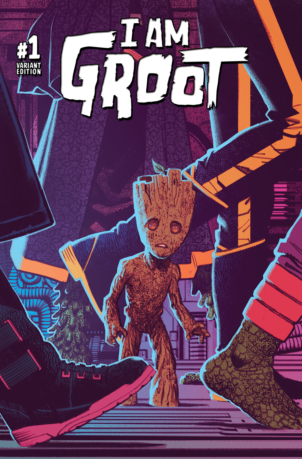 I Am Groot I AM GROOT #1 preview ...