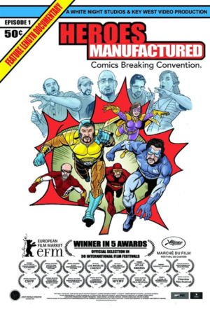 Heroes Manufactured Poster